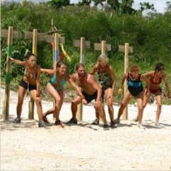 The castaways ready to compete in <i><a href=