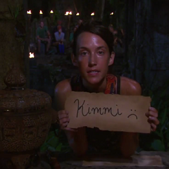 Ciera casts her last vote, against <a href=