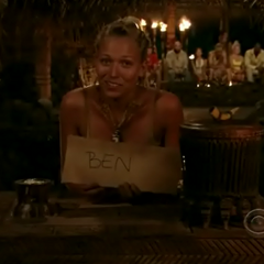 Ashley's vote for Ben