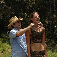 Amanda won individual immunity.