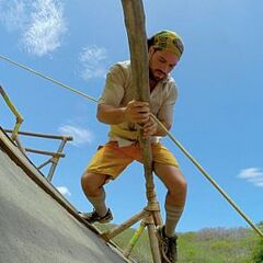 Joaquin competing at the 4th Immunity Challenge.