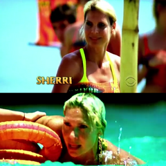 Sherri's opening shots in the intro.