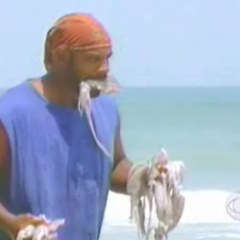 Ted competes in the Immunity Challenge