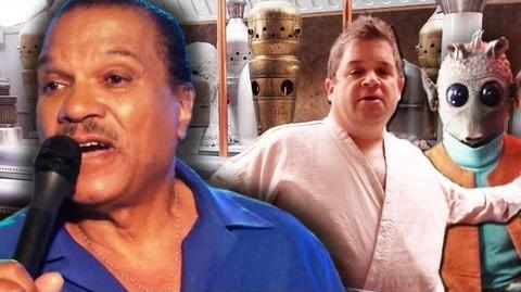 Star Wars Cantina Karaoke w BILLY DEE WILLIAMS & PATTON OSWALT Course of the Force