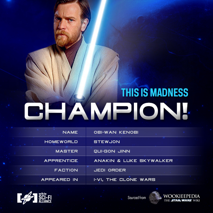 StarWars TIMBracket Champion