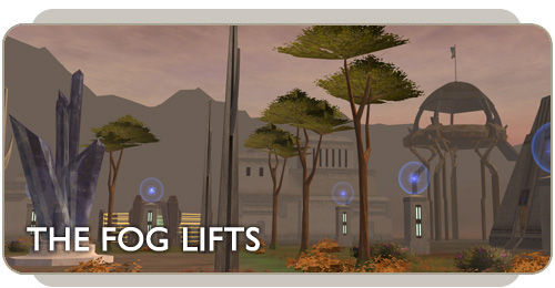 Aurilia fog lifts