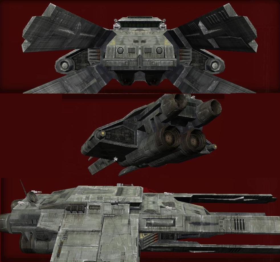 Rihkxyrk Attack Ship Chassis Blueprints Style 4 | SWG Wiki ...