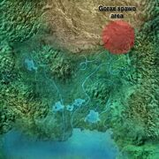 Endor Gorax spawn area