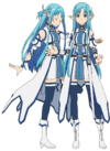 Asuna's Undine Avatar Full Body