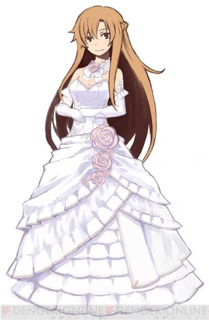 Image Asuna Wedding Dress Png Sword Art Online Wiki