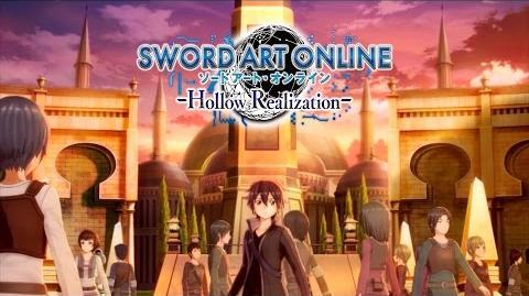 Sword Art Online Hollow Realization - Announcement Trailer PS4, Vita
