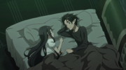 Kirito promises to live as a family again