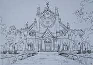 Floor 01 -The Church -Design Works Artbook