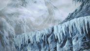 Icicles of the West Mountain
