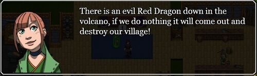 Invitation to Red dragon quest
