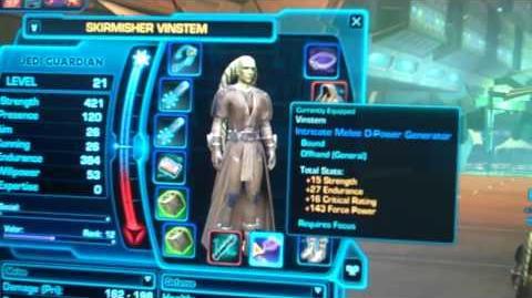 PAX 2012 SWTOR Level 20 Jedi Gear