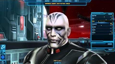 Creating an Imperial Agent - TOR - Star Wars The Old Republic