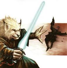 Unidentified Cathar Jedi (Telekinesis)