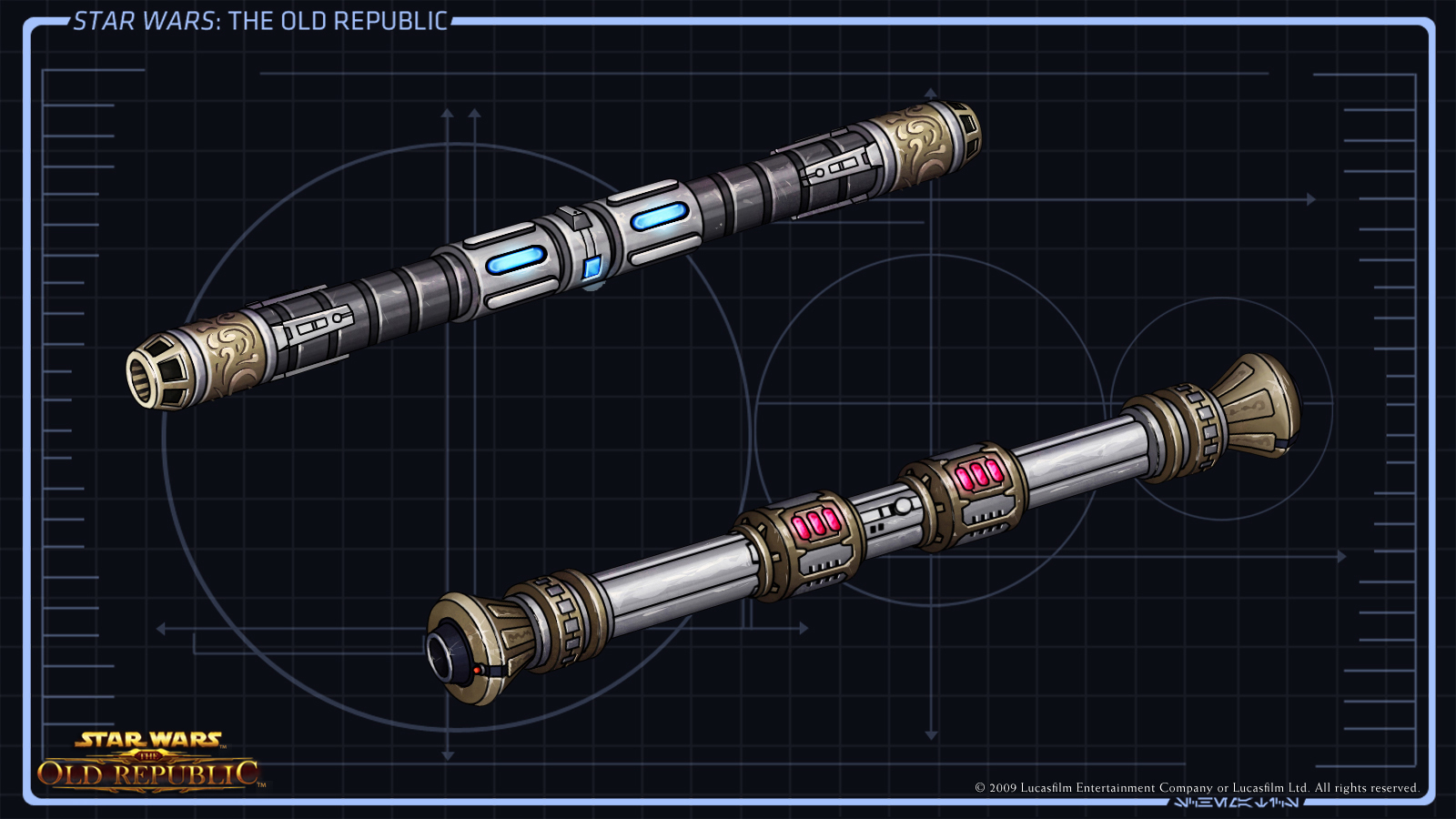 Double Bladed Lightsaber Star Wars The Old Republic Wiki Fandom Powered By Wikia