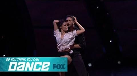 Hayley & Dmitry Top 8 Perform SO YOU THINK YOU CAN DANCE FOX BROADCASTING