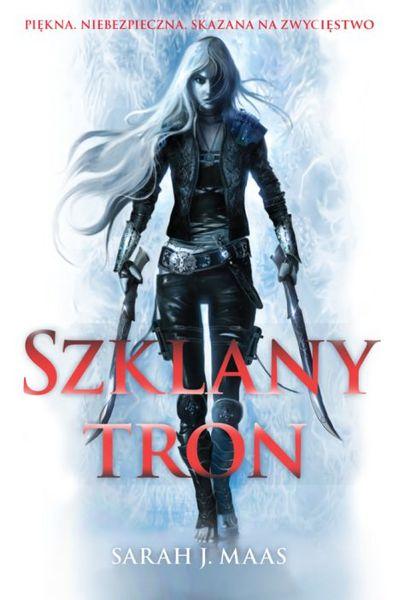 """Szklany Tron"" Sarah J. Maas-pw"