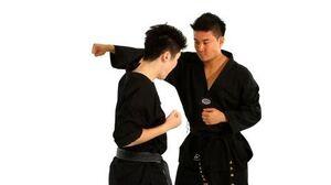 How to Do the Outside Block Technique Taekwondo Training