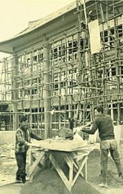 Kukkiwon Construction
