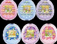Tamagotchi m!x 6 designs
