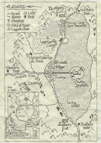 Dunlath map