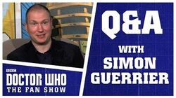 Q&A With Simon Guerrier - Doctor Who The Fan Show
