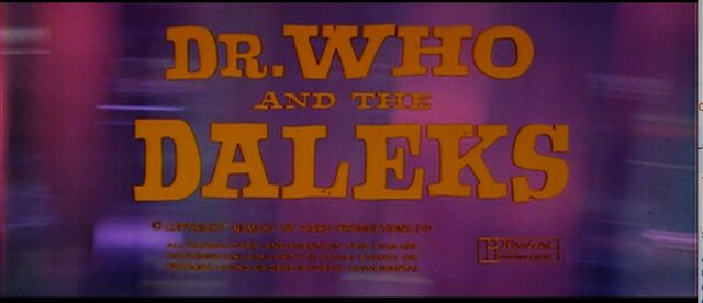 File:Dr. Who and the Daleks title card.jpg