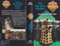 The Day of the Daleks 1987 VHS Australian folded out cover