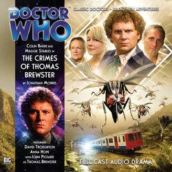 The Crimes of Thomas Brewser cover