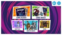 Comic Creator Menu