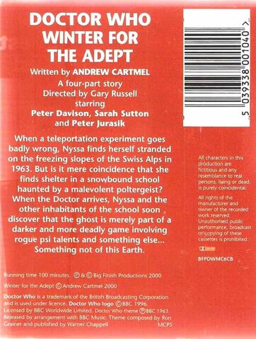 File:Winter for the Adept cassette back.jpg