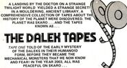 The Dalek Tapes Logo9