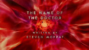 The Name of the Doctor - Title Card