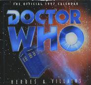 1997 Doctor Who Calendar