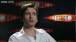 David Tennant on Doctor Who exit - BBC One