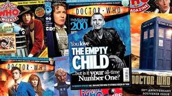Every Doctor Who Magazine Cover EVER! - Doctor Who