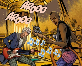 File:Hattie and the Doctor play guitar.jpg