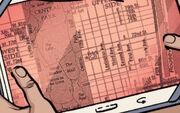 Upper Manhattan map