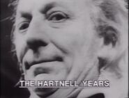 The Hartnell Years title card