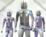 Cybermen in Land of Fiction