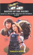 Destiny of the Daleks novel 1990