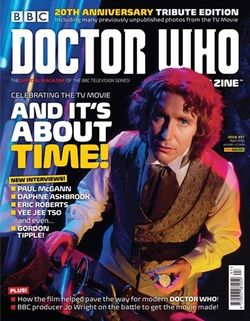 Doctor Who Magazine 497 Cover