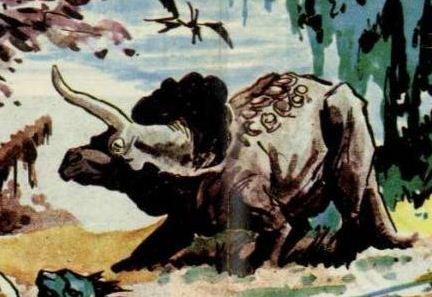 Skarosian ceratopsian