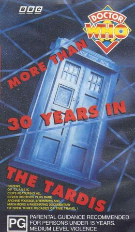 File:More Than 30 Years in the TARDIS VHS Australian cover.jpg