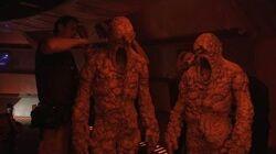 Enter the Sandmen - Doctor Who Series 9 (2015) - BBC