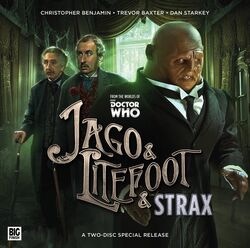 Jago & Litefoot & Strax cover